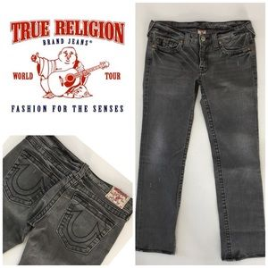 True Religion Stevie Straight Leg👖